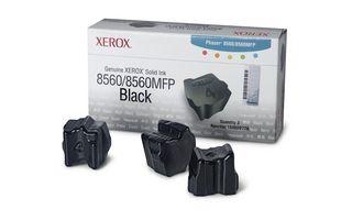 Cartus Inkjet Xerox 3 Black ink sticks for Phaser 8560