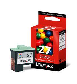 Cartus Inkjet Lexmark Color #27 / 10NX227E