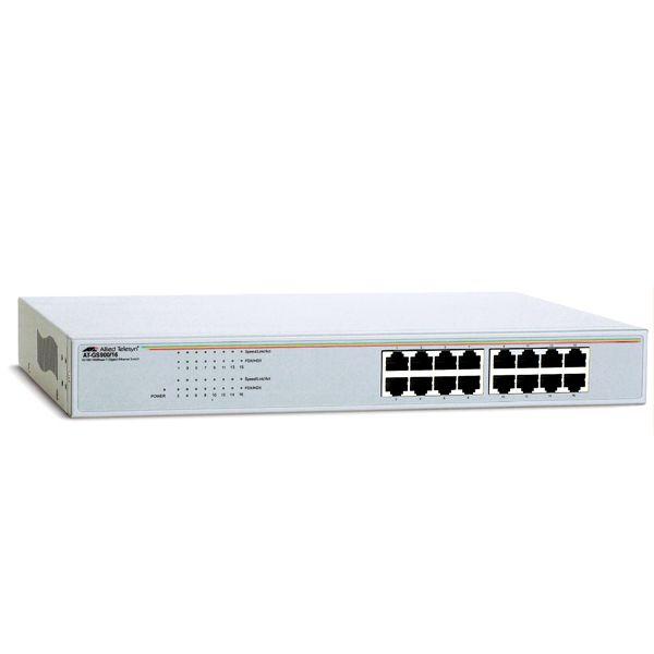 Switch Allied Telesis AT-GS900/16 fara management fara PoE 16x1000Mbps-RJ45