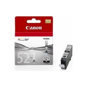 Cartus Inkjet Canon CLI-521 black BS2933B001AA