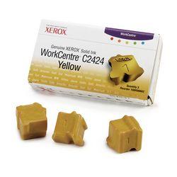 Cartus Inkjet Xerox 3 Yellow ink sticks for WorkCentre C2424