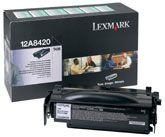 Cartus Laser Lexmark 12A8420 Return Program pentru T430