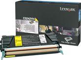 Cartus Laser Lexmark C5242YH Yellow de mare capacitate pentru C524 C532 C534