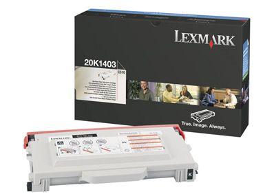Cartus Laser Lexmark 20K1403 Negru de mare capacitate pentru C510