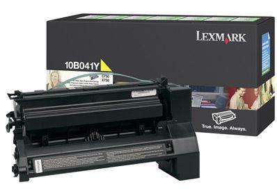 Cartus Laser Lexmark 10B041Y Return Program Yellow pentru C750