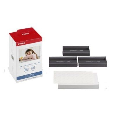 Canon KP108IN Color Ink Paper Set for CP-uri 108 sheets
