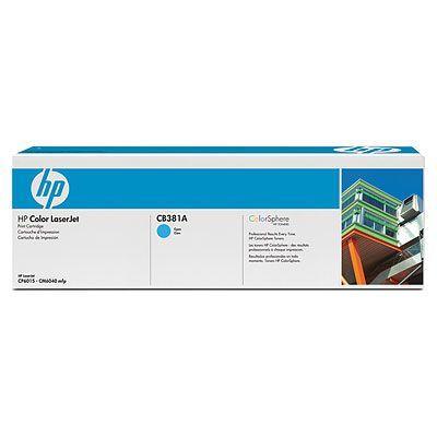 Cartus Laser HP CP6015 Cyan Cartridge (21.000pag) CB381A