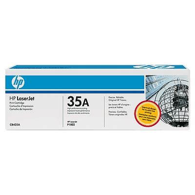 Cartus Laser HP CB435A Black Print Cartridge for LJ P1005/P1006 (1 500 pag)