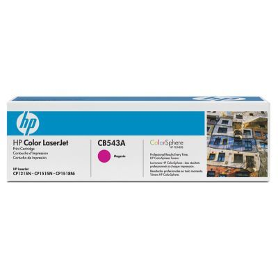 Cartus Laser HP CP1215/1515n Magenta Cartridge (1.400pag) CB543A