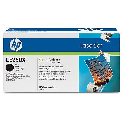 Cartus Laser HP CE250X Black Print Cartridge (10.500 pag)