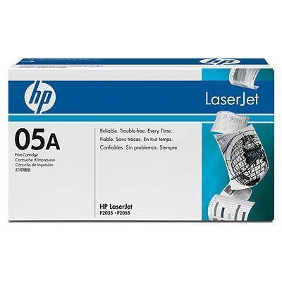 Cartus Laser HP CE505A Black Print Cartridge