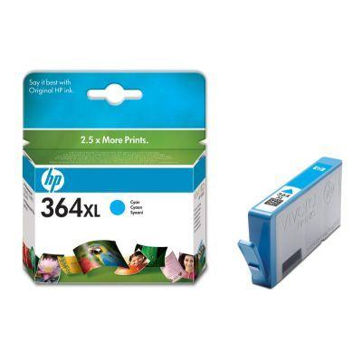 Cartus Inkjet HP 364XL Cyan (CB323EE)