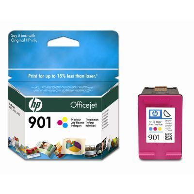 Cartus Inkjet HP 901 Officejet Tricolor (CC656AE)