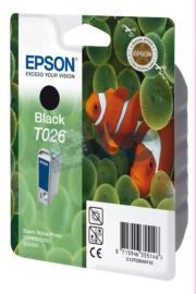 Cartus Inkjet Epson Black T026