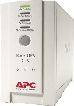 APC UPS Back CS 650 VA