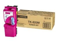 Toner Kyocera magenta TK-820M pentru FS-C8100DN 7k