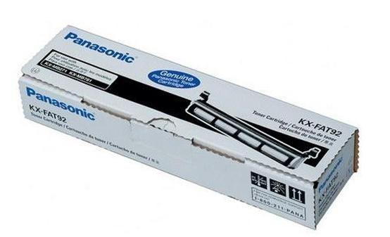 Toner negru Panasonic KX-FAT92E