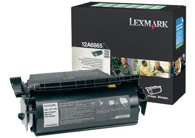Cartus Laser Lexmark 12A6865 Return Program de mare capacitate pentru Optra T620 T622