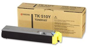Toner Yellow TK-510Y for Kyocera FS-C5020N 8.000 pag