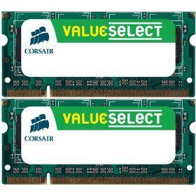 Memorie Notebook Corsair Value Select 4GB kit DDR2-800