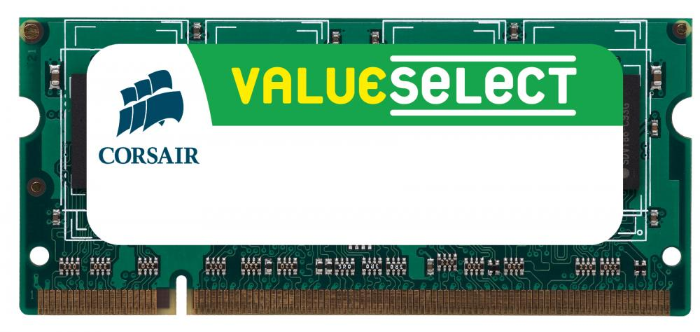 Memorie Notebook Corsair Value Select 2GB DDR3-1066