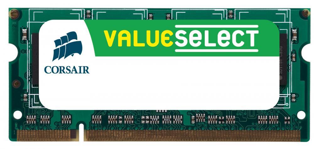 Memorie Notebook Corsair ValueSelect DDR3-1066 4GB