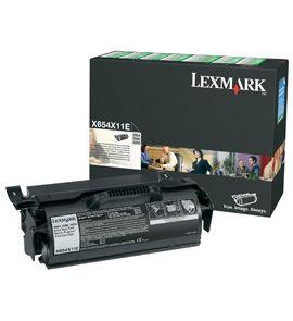 Cartus Laser Lexmark X654X11E Return Program de 36.000 pagini pentru X654 X656 X658