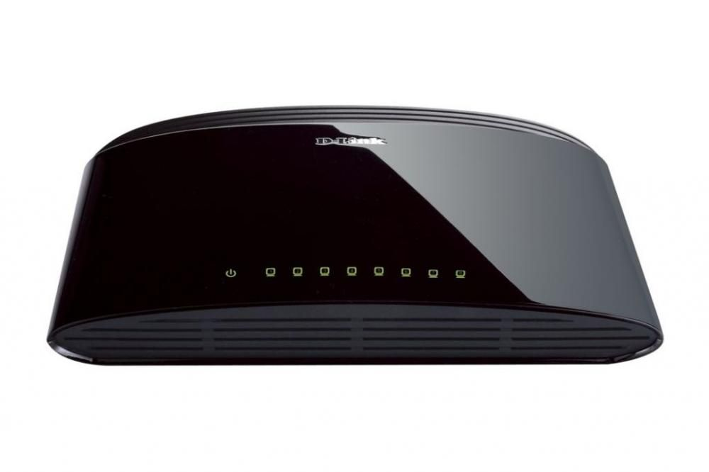 Switch D-Link DES-1008D fara management fara PoE 8x100Mbps-RJ45