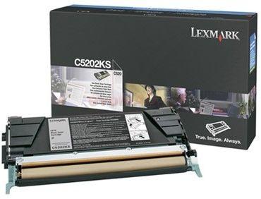Cartus Laser Lexmark C5202KS negru pentru imprimante C520 C530