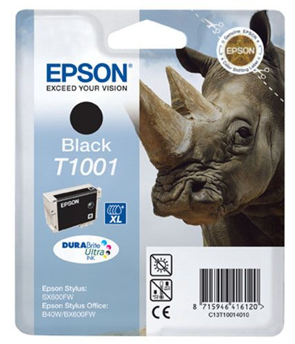 Cartus Inkjet Epson T1001 XL Black