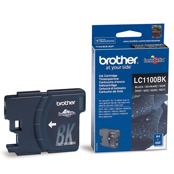 Cartus InkJet Brother LC1100BK Black
