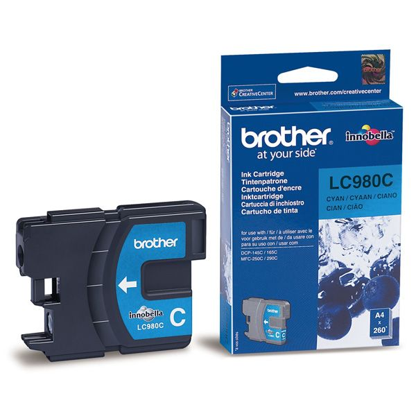 Cartus InkJet Brother LC980C Cyan