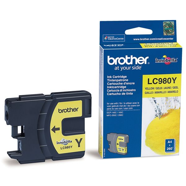 Cartus InkJet Brother LC980Y Yellow