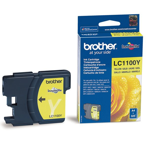 Cartus InkJet Brother LC1100Y Yellow