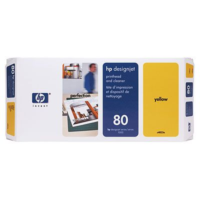 Cap printare inkjet HP 80 yellow C4823A