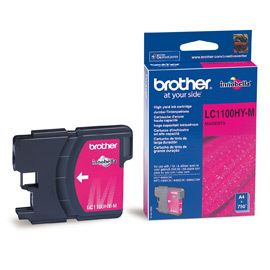 Cartus Inkjet Brother LC1100 Magenta de capacitate mare