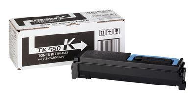 Cartus Laser Kyocera TK-550K negru pentru FS-C5200DN