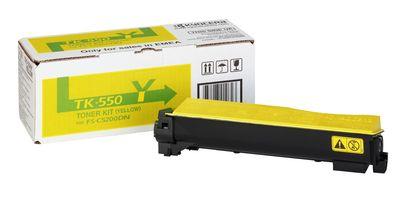 Cartus Laser Kyocera TK-550Y yellow pentru FS-C5200DN