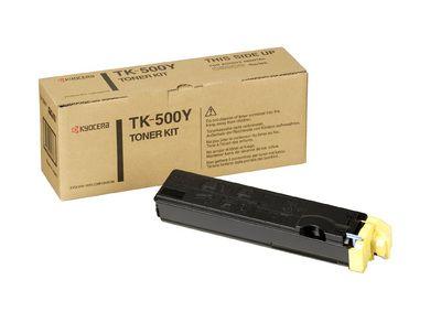 Cartus Laser Kyocera TK-500Y yellow pentru FS-C5016N