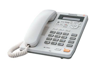 Telefon analogic cu robot telefonic digital Panasonic KX-TS620FXW alb