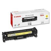 Cartus Laser Canon CRG-718 Yellow pentru LBP-7200Cdn
