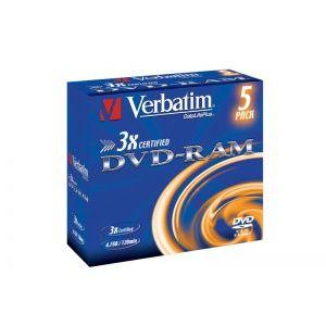 DVD-RAM 3X 4.7GB MATT JEWEL CASE 5 pret pe bucata