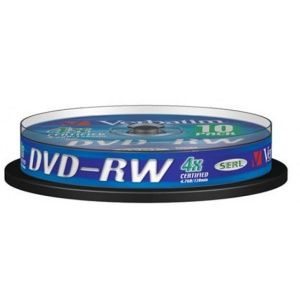 DVD-RW 4X 4.7GB SERL MATT SPINDLE 10