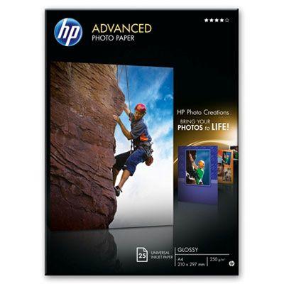 Hartie Fotografica HP Advanced Glossy 25 foi A4