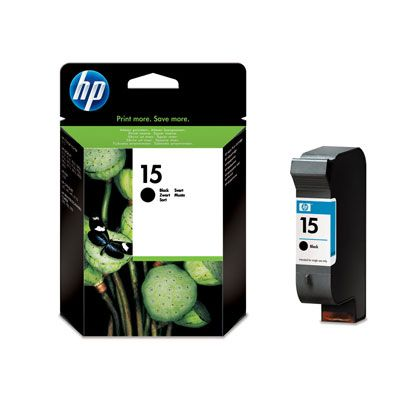 Cartus Inkjet HP 15 Black C6615DE