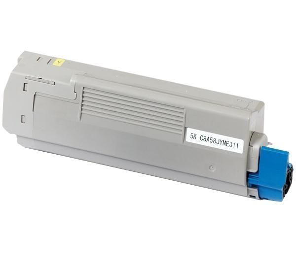 Cartus Laser Oki Yellow pentru C5800 / C5900 / C5550