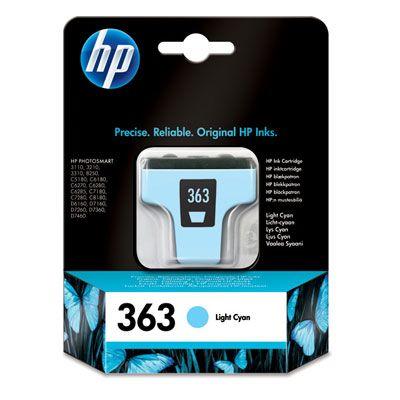 Cartus Inkjet HP 363 Light Cyan C8774EE