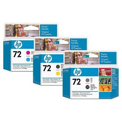Cap printare HP 72 Black si Yellow C9384A