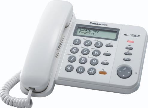 Telefon analogic Panasonic KX-TS580FXW (Alb)