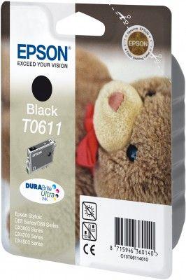 Cartus Inkjet Epson T0611 Black